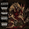 HORRENDOUS FORMS OF HUMAN RUINATION - 5-Way Split CD