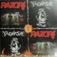 YACOPSAE / RAZORS - Split CD