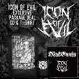 ICON OF EVIL - Bundle CD+TS (L)