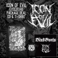 ICON OF EVIL - Bundle CD+TS (XXL)