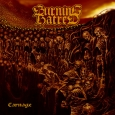 BURNING HATRED - Carnage CD