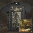ENCOFFINATION - O' Hell, Shine In Thy... BUNDLE (CD+TS XXL)