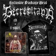 DECREPITAPH - Bundle CD+T-SHIRT (size XL)