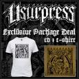 USURPRESS - Skull CD+T-SHIRT (size XL)