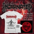 INCARNATED - Try Before Die BUNDLE CD+T-SHIRT (size L)