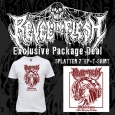 """REVEL IN FLESH - Phlebotomy BUNDLE SPLATTER 7""""EP+T-SHIRT (S)"""