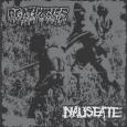 AGATHOCLES / NAUSEATE - Split CD